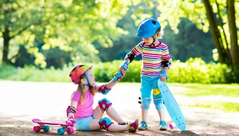 Pirmā palīdzība nelaimes gadījumā sev un draugam, kas jāzina katram bērnam