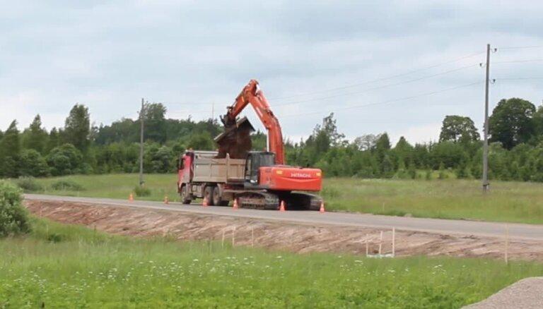 Video: Kā pārbauda vērienīgos būvdarbus uz Vecpiebalgas ceļa