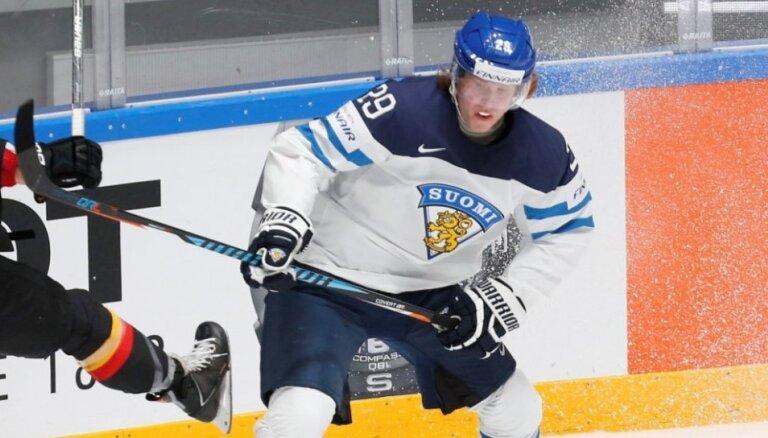 18-летний Патрик Лайне— лучший игрок 80-го чемпионата мира по хоккею
