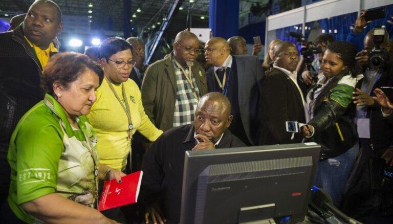 DĀR valdošā partija cieš sakāvi galvaspilsētā Pretorijā