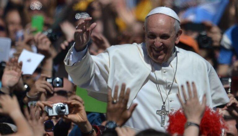 Папа римский Франциск поздравил всех католиков с Пасхой