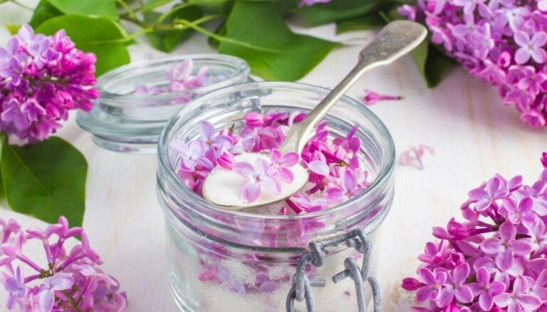 Pavasara smarža un garša burciņā: kā pagatavot aromatizētu ceriņu cukuru