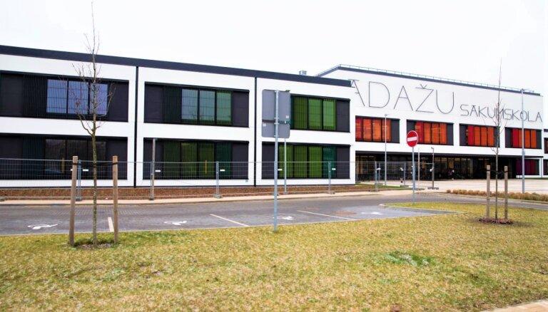 Ādažu sākumskolai uzbūvēts jauns korpuss