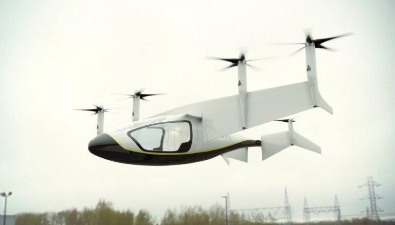 Rolls Royce представила концепт летающего такси в Фарнборо