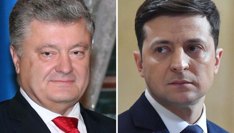 На киевском стадионе пройдут дебаты между Порошенко и Зеленским