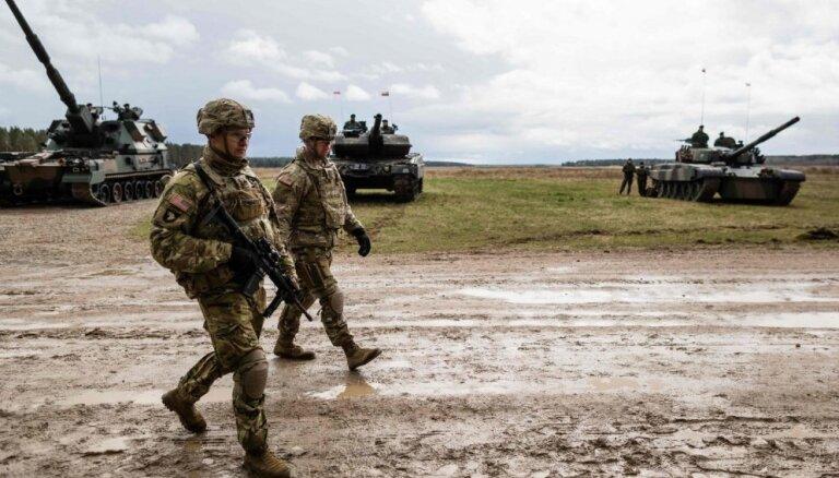 Polijas ministrs pārliecināts par ASV militārās klātbūtnes pastiprināšanu