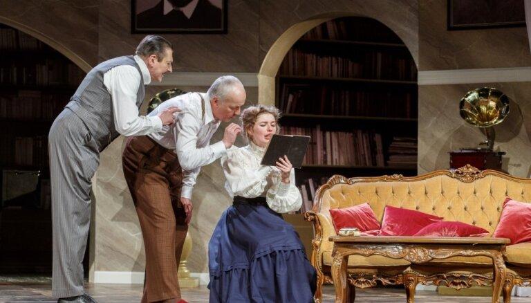 Valmieras teātrī iestudēta romantiskā komēdija 'Pigmalions'