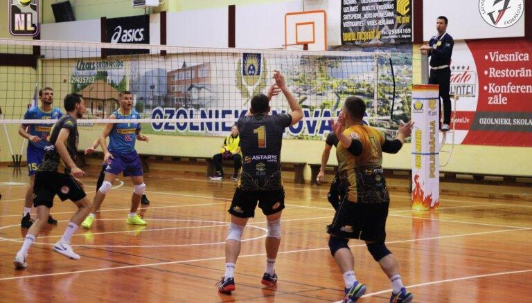 Latgales un Kuldīgas vienības ieņem līderpozīcijas Nacionālajā volejbola līgā