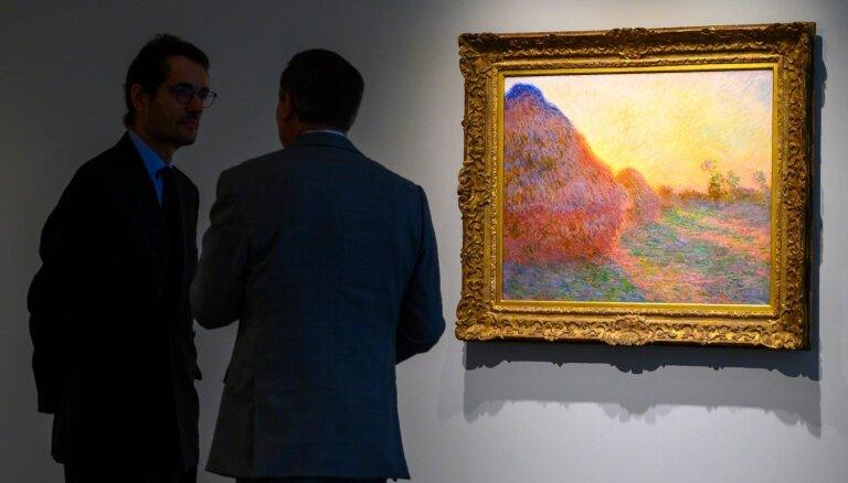 Kloda Monē glezna pārdota izsolē Ņujorkā par rekordcenu – 110,7 miljoniem dolāru