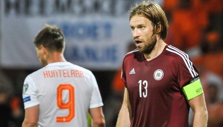 Latvijas futbola izlasei vajag savu Hārtliju, uzskata Gorkšs