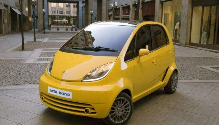 Indiešu 'Tata' plāno ražot automašīnas 'Nokia' bijušajā rūpnīcā