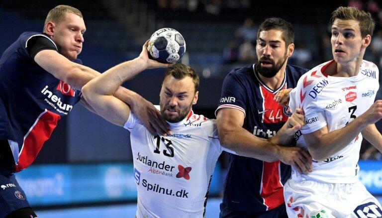 Krištopāna pārstāvētā PSG Čempionu līgas pusfinālā pazaudē piecu vārtu pārsvaru un piekāpjas 'Aalborg'