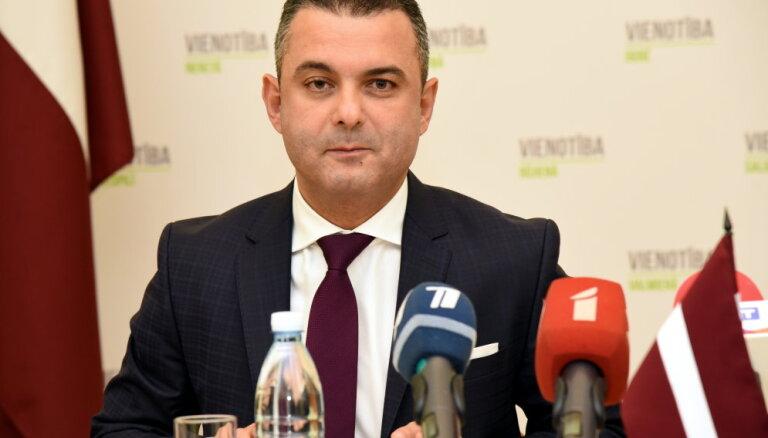 'Vienotības' Saeimas frakcijas vadītājs Abu Meri būs pēdējais numurs sarakstā Vidzemē