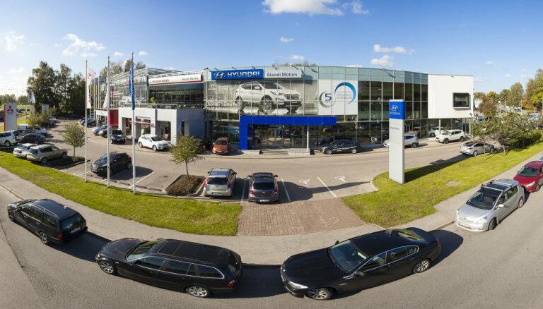 Латвийский автодилер Skandi Motors работал с убытками