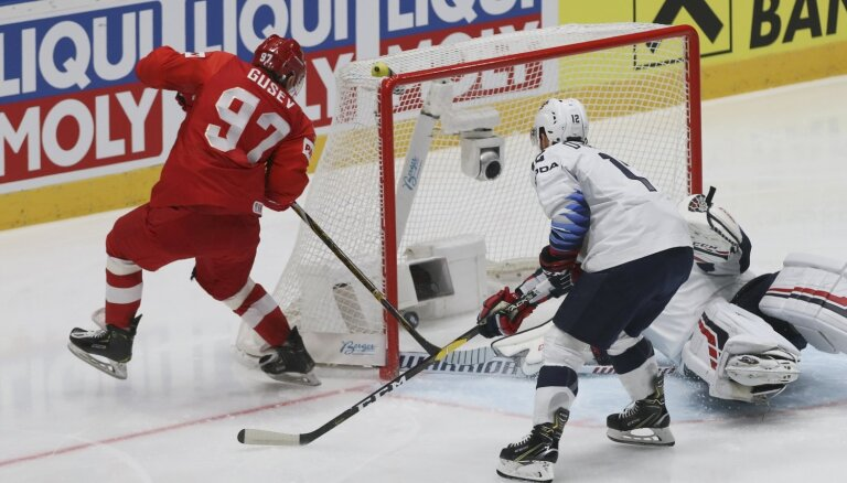 Video: Krievija, Kanāda, Čehija un Somija aizraujošās spēlēs sasniedz PČ pusfinālu