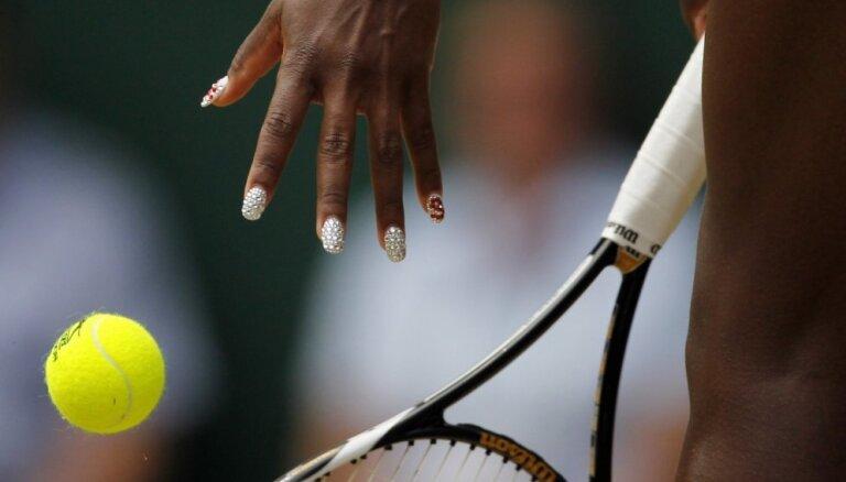 Mirdzošais glamūrs: idejas manikīram, ko aizņemties no tenisistes Serēnas Viljamsas