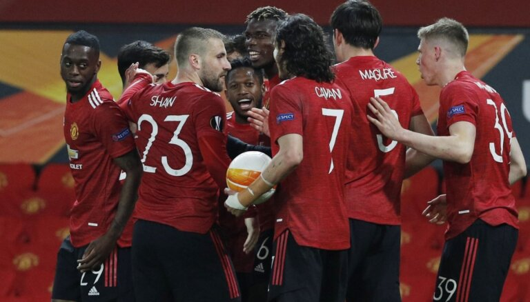 """В шаге от финала: как """"Манчестер Юнайтед"""" разбил """"Рому"""" в Лиге Европы"""