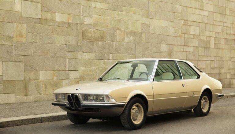 BMW no jauna izgatavojis 70. gadā pazaudētu koncepta auto