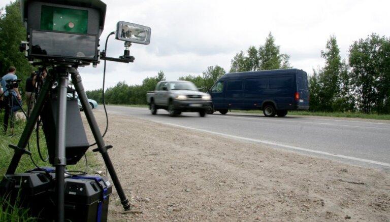 Фоторадары могут исчезнуть с латвийских дорог не раньше 2021 года