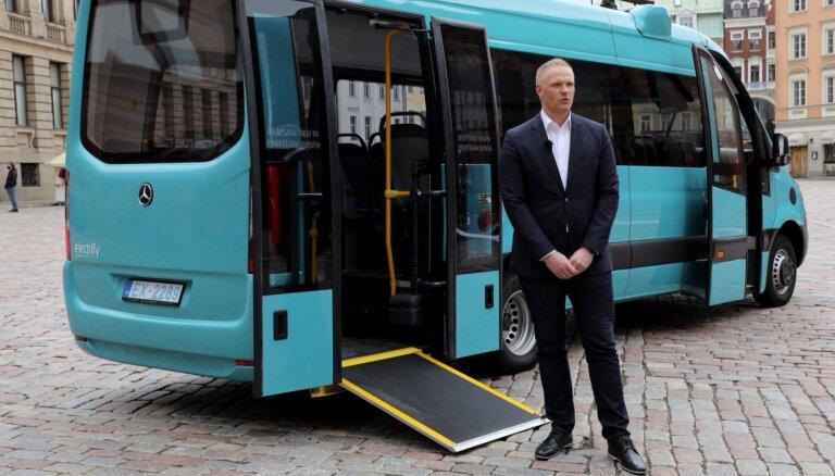 Latvijā saražoti pirmie elektriskie mikroautobusi pasažieru pārvadāšanai