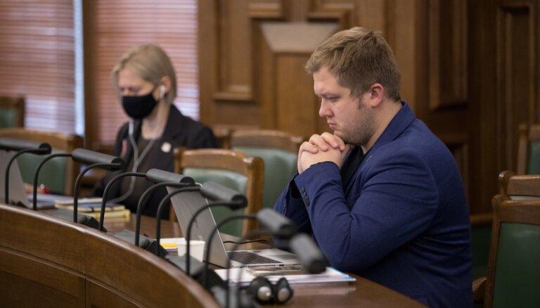 Mārtiņš Šteins kļuvis par Iekšlietu ministrijas parlamentāro sekretāru