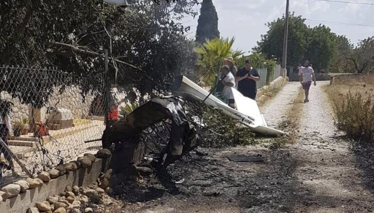 Divu lidaparātu avārijā virs Maljorkas septiņi bojāgājušie