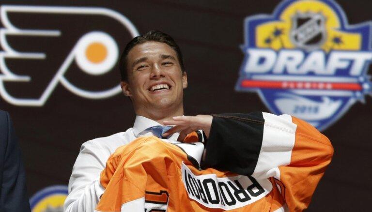 22-летний Проворов стал самым дорогим российским защитником в истории НХЛ