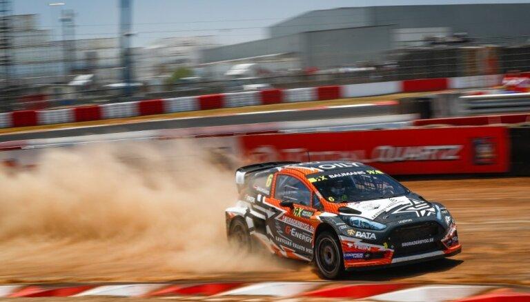 Jānis Baumanis šo 'World RX' sezonu noslēdz ar vēl vienu pusfinālu
