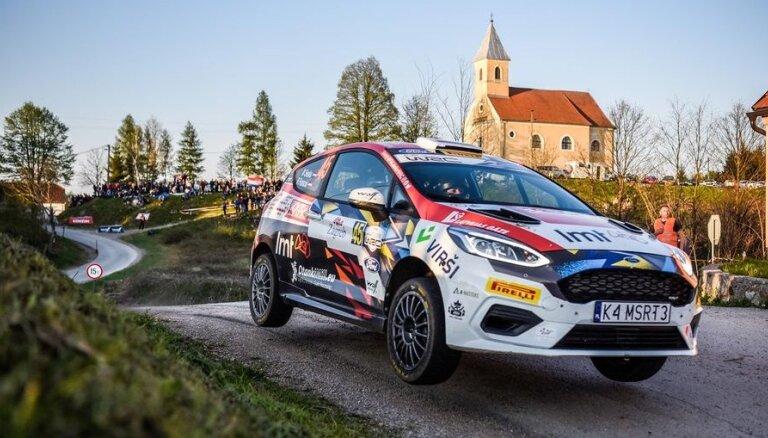 Seska ekipāža pirmajā sezonas posmā Horvātijā izcīna otro vietu junioru klasē