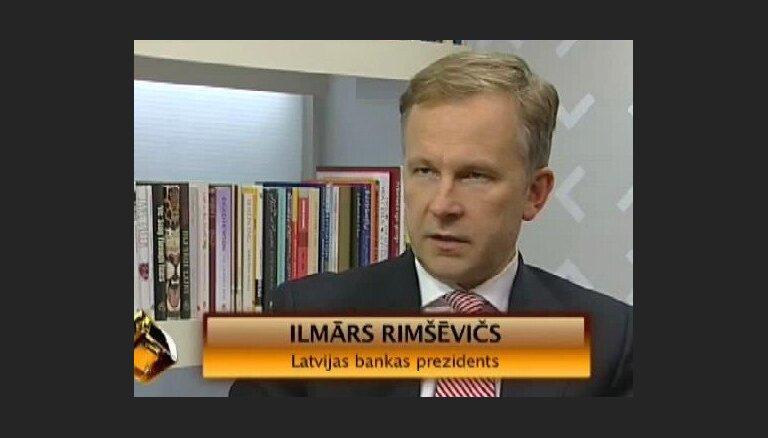 'Viss notiek' intervija. LB prezidents Ilmārs Rimševics