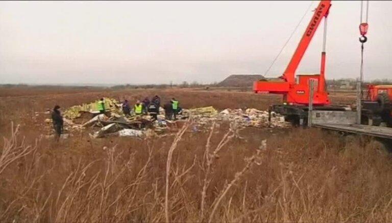 Identificētas 292 Ukrainā notriektās lidmašīnas upuru mirstīgās atliekas