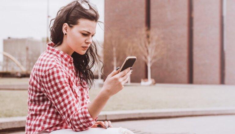 Par un ap aktivitātēm sociālajos tīklos un telefona lietošanas paradumiem