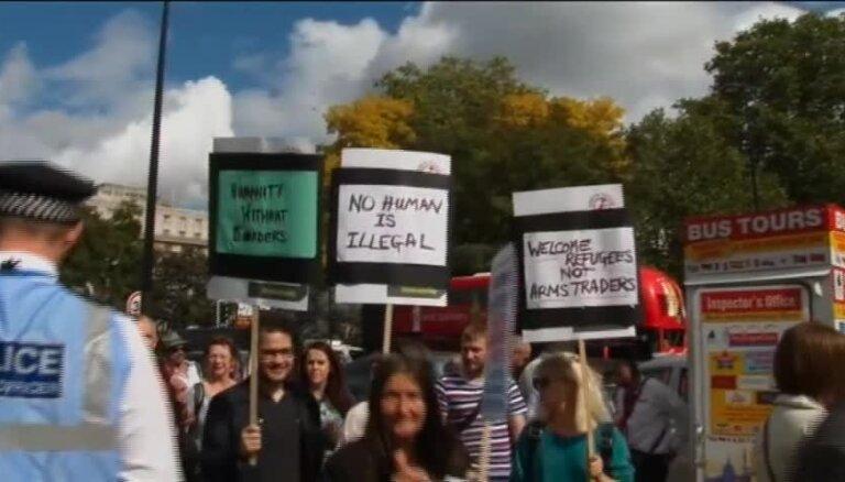 Bēgļu atbalsta pasākums Londonā