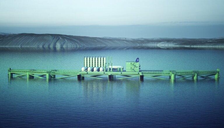 Журнал: построят ли вблизи Саулкрасты газовый терминал?