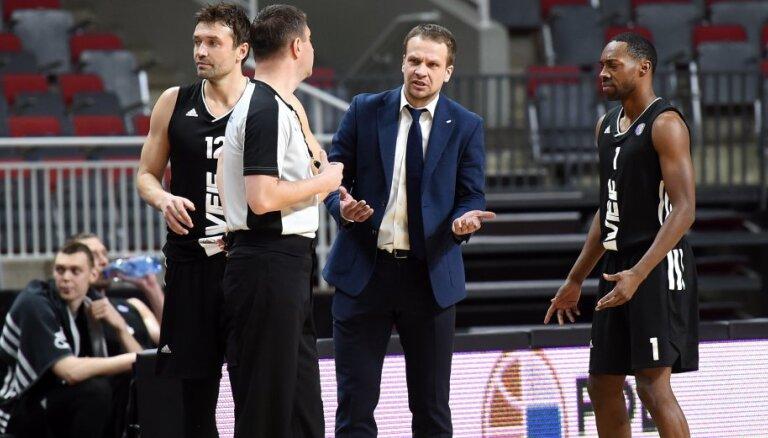 'VEF Rīga' nespēj apturēt spēcīgās Maskavas CSKA uzvaru sēriju VTB čempionātā