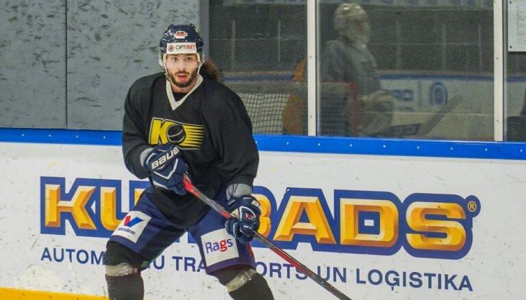 'Kurbads' pievienojas bijušais KHL kluba 'Slovan' spēlētājs Šerbatovs