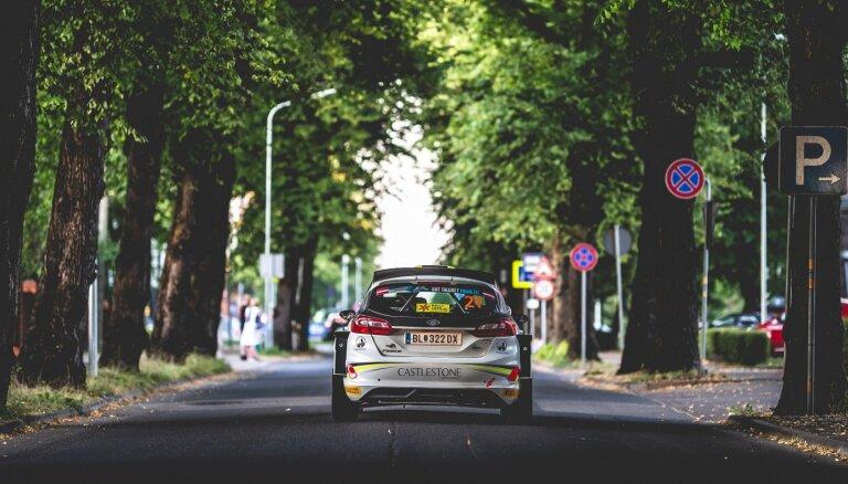 'Rally Liepāja': Liepājas un Talsu apkārtnē gaidāmi satiksmes ierobežojumi