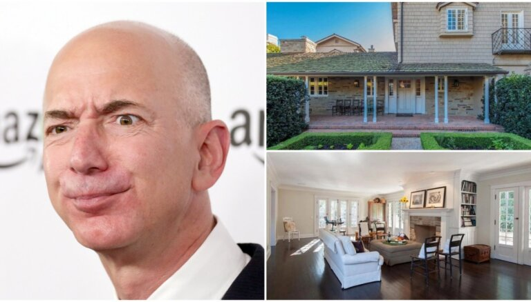 ФОТО: Владелец Amazon потратил $10 млн на покупку дома по соседству