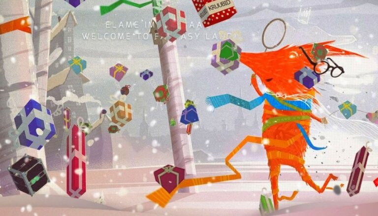Ilvess sveic svētkos, reklamējot igauņu mūziku un dizainu