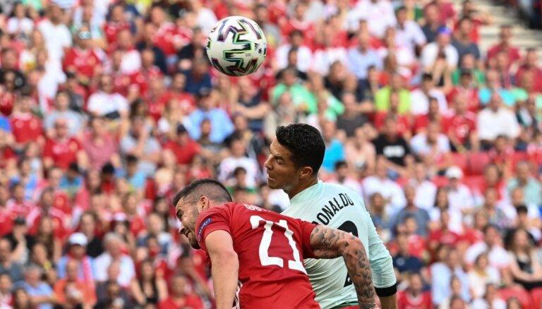 Португалия громит Венгрию при аншлаге, у Роналду — дубль и новый снайперский рекорд