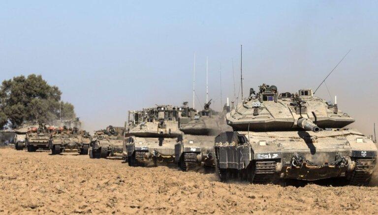 Gazas joslā stājies spēkā 72 stundu pamiers