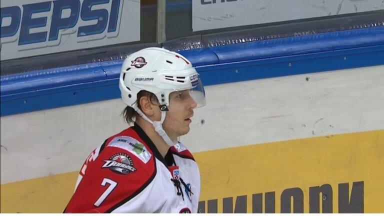 Bārtulis un 'Donbass' 'sausā' uzvar 'Amur' hokejistus