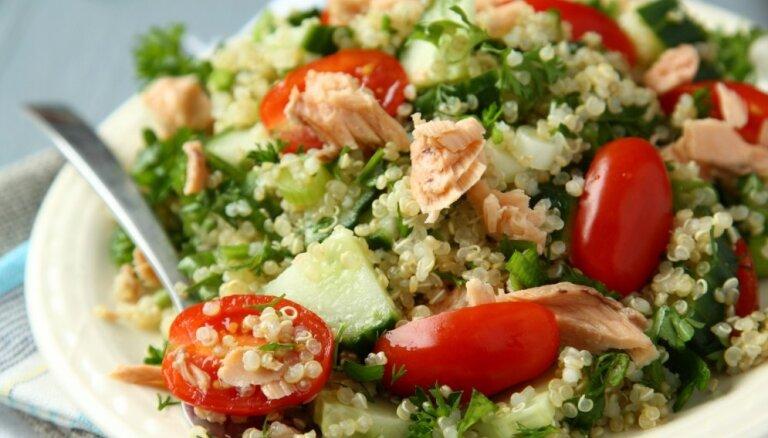 Modīgā kvinoja: 10 salāti pavasara ēdienkartes dažādošanai