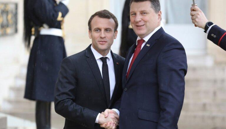 Вейонис: Латвии и Франция будут сотрудничать еще теснее