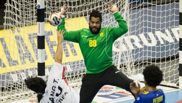 Brazīlijas handbolisti pirmo reizi vēsturē pārvar pasaules čempionāta priekšsacīkstes