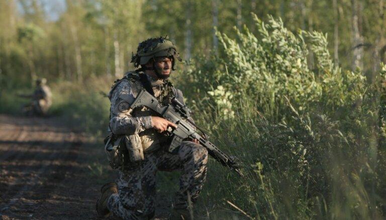 48% латвийцев против того, чтобы в Латгалии разместили постоянные военные силы