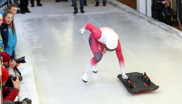 Skeletonists Netlaus izcīna astoto vietu pasaules čempionātā junioriem