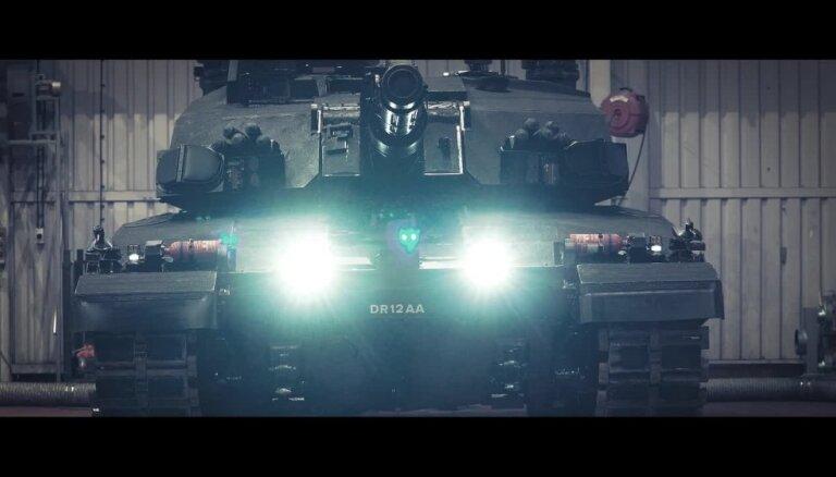 Briti uzlabojuši kaujas tanku Challenger 2