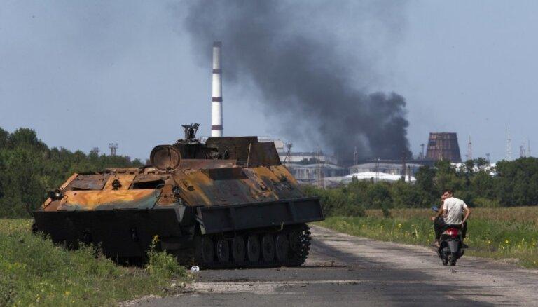 Donbasā pērn dzīvību zaudējuši 55 civiliedzīvotāji, ziņo ANO