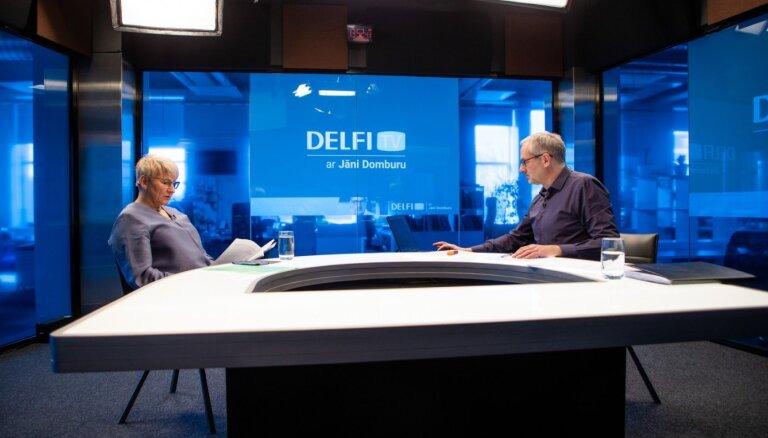 'Delfi TV ar Jāni Domburu' atbild VID ģenerāldirektore Ieva Jaunzeme. Pilns ieraksts